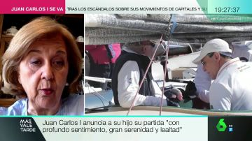 La periodista experta en Casa Real, Carmen Enríquez