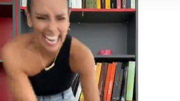 El comentado baile a carcajadas de Cristina Pedroche con el que vuelve a arrasar en TikTok
