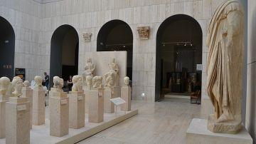 Imagen interior del Museo Arqueológico Nacional