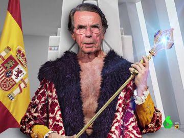 """La imitación de Joaquín Reyes a Aznar en 2040 que explica cómo acabó creando la 'España Buena': """"Os salvé de los bolcheviques"""""""