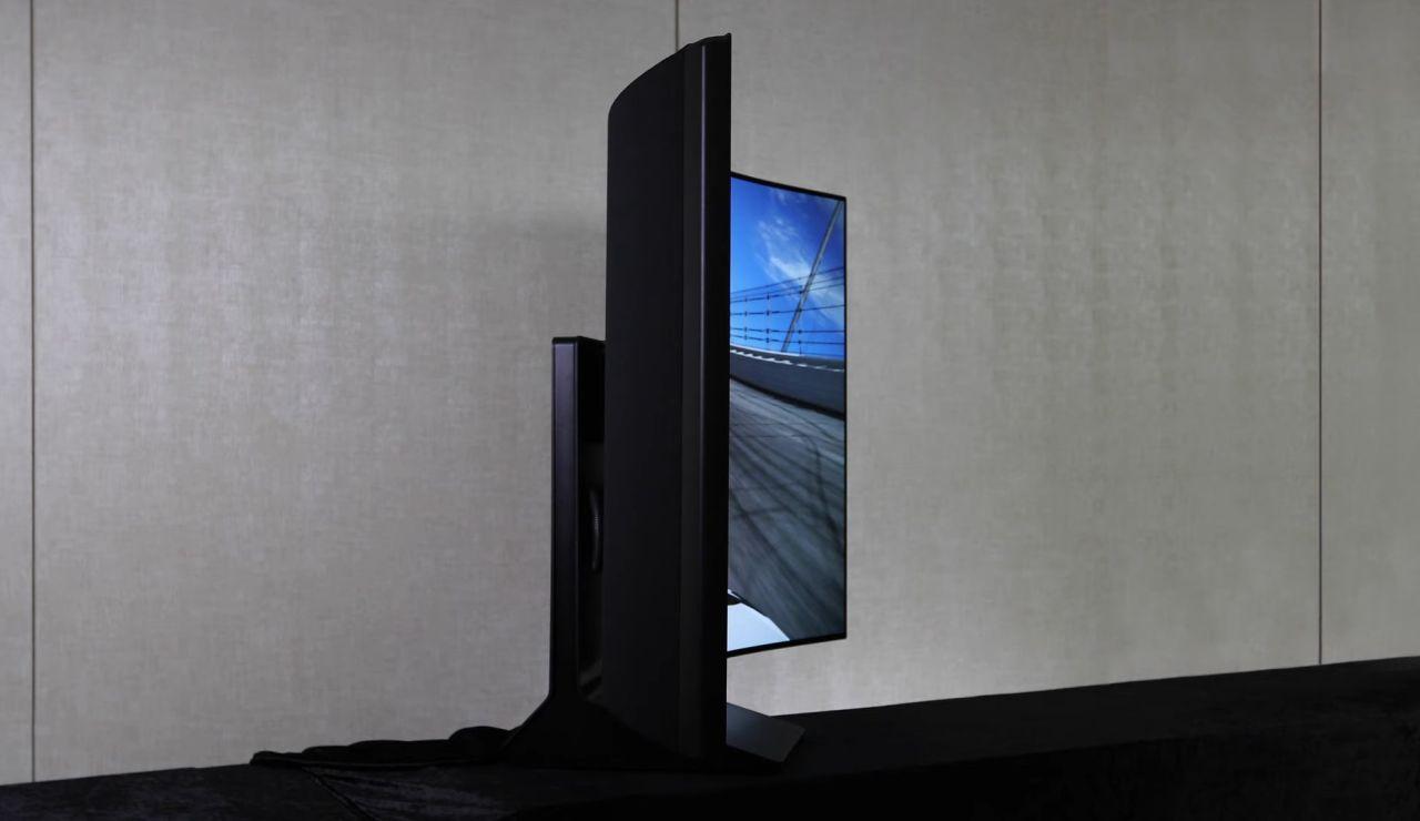 Smart TV plegable de LG