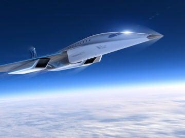 'Mach 3', así es el avión supersónico que prepara Virgin Galactic
