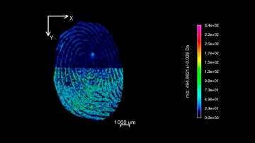 Como obtener el mapa quimico de una huella dactilar