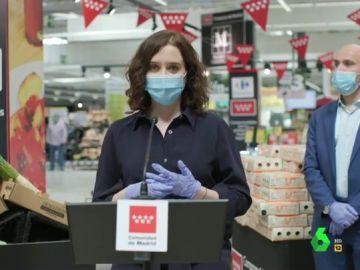 Vídeo manipulado - La impecable actuación de Ayuso cantando 'Campana sobre campana' en pleno supermercado