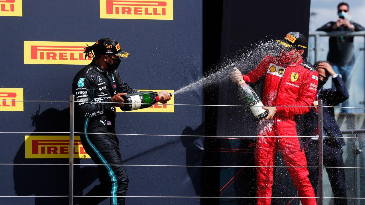 Hamilton y Leclerc