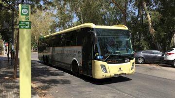 Autobús de Málaga, en una imagen de archivo