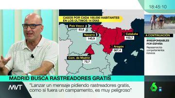 """El doctor López Guerrero alerta: """"El virus no se va a ir en septiembre. Viene un otro complicado"""""""