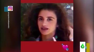 """El vídeo que demuestra que en 1992 no había spoilers: una joven Penélope Cruz """"destrozando"""" 'Jamón, jamón'"""