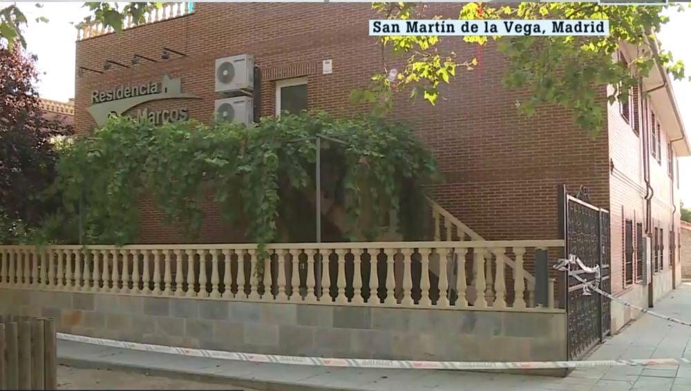 Residencia de Madrid donde se ha registrado el nuevo foco de contagios