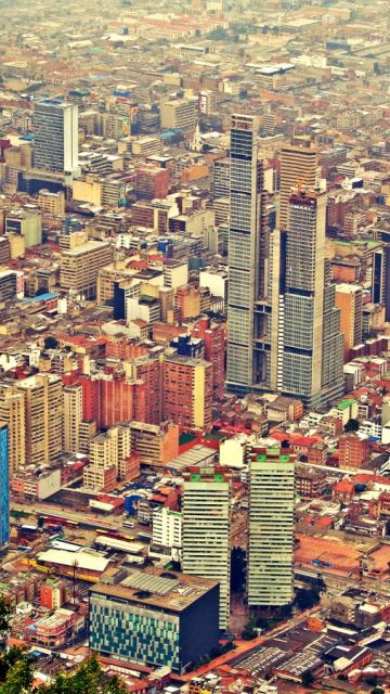 Panorámica de Bogotá, Colombia