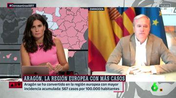 """El alcalde de Zaragoza reclama más medios ante el aumento de los contagios: """"La preocupación es máxima"""""""