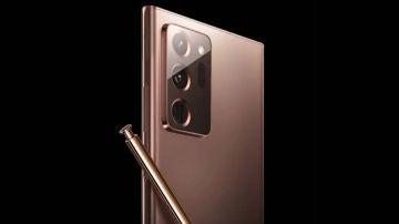 Cámara del Samsung Galaxy Note 20