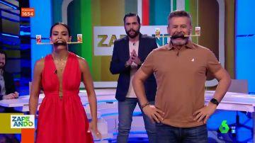 """El duelo """"a muerte"""" entre Cristina Pedroche y Miki Nadal que acaba 'humillando' al perdedor: """"No me lo creo"""""""