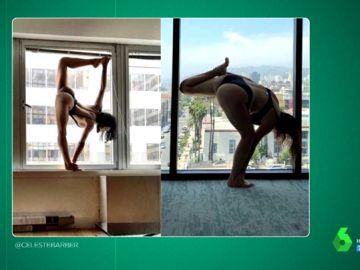 """Postureo vs realidad: las divertidas imitaciones de Celeste Barber a las poses imposibles y """"ridículas"""" de las influencers"""