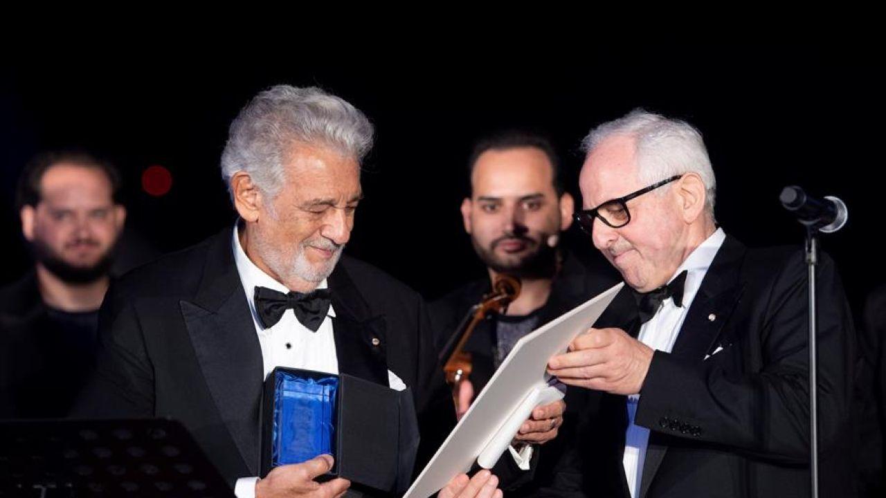 Plácido Domingo recibe un premio por su trayectoria en Austria
