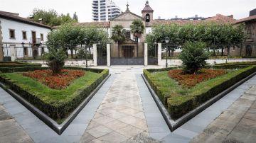Vista del Convento de las Brígidas de Lasarte-Oria (Gipuzkoa) este viernes.