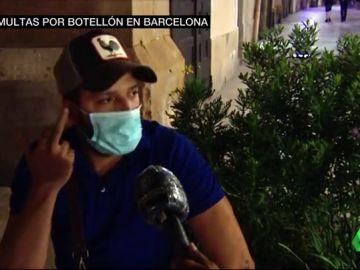 """Lista de respuestas absurdas de los jóvenes que hacen botellón en Barcelona: """"He hecho todo para que el virus me mate y nunca me ha matado"""""""