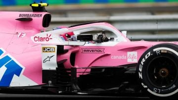 Lance Stroll, con el Racing Point