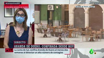 Raquel González, alcaldesa de Aranda de Duero