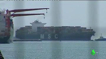 Imagen del puerto de Valencia