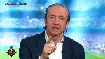 """Josep Pedrerol, tajante en 'El Chiringuito': """"Zidane, si te vas a ir, dilo ahora"""""""