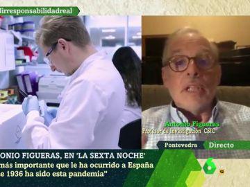 Antonio Figueras en laSexta Noche