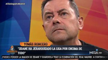 El tremendo cabreo de Tomás Roncero tras la eliminación del Real Madrid de la Champions League