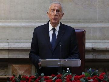 Imagen de archivo de Marcelo Rebelo de Sousa, presidente de Portugal