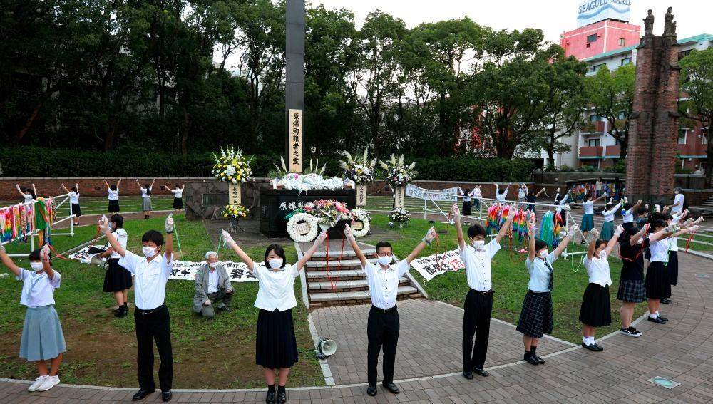 75 aniversario del bombardeo nuclear en Nagasaki