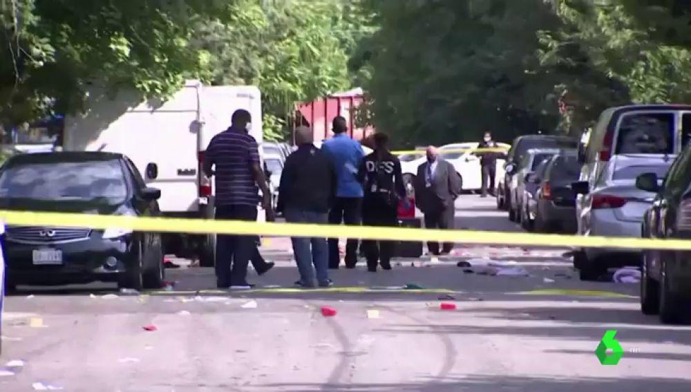 Un adolescente muerto y 20 heridos en un tiroteo en una fiesta privada en Washington