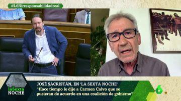 José Sacristan en laSexta Noche