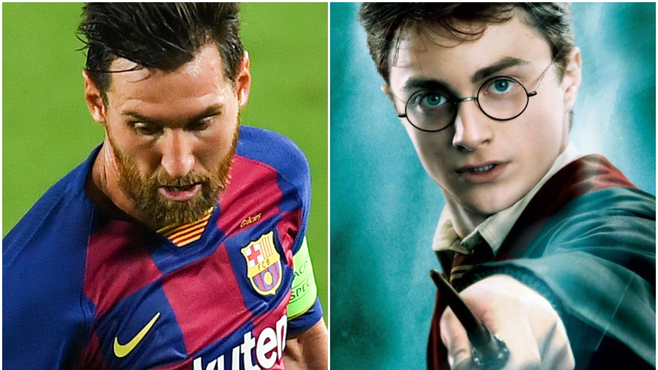 Messi y Harry Potter