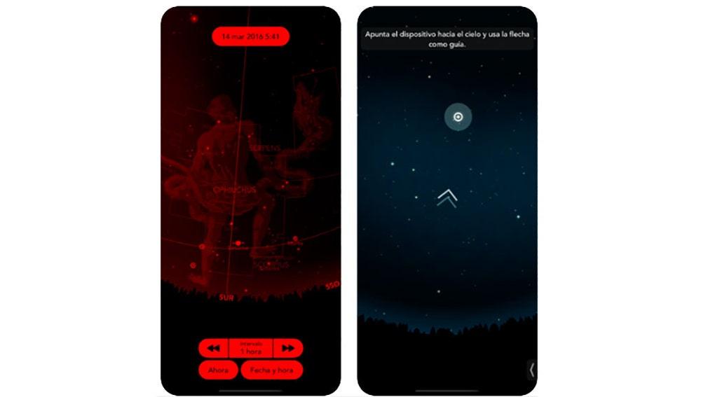 Explorando el cielo desde un iPhone