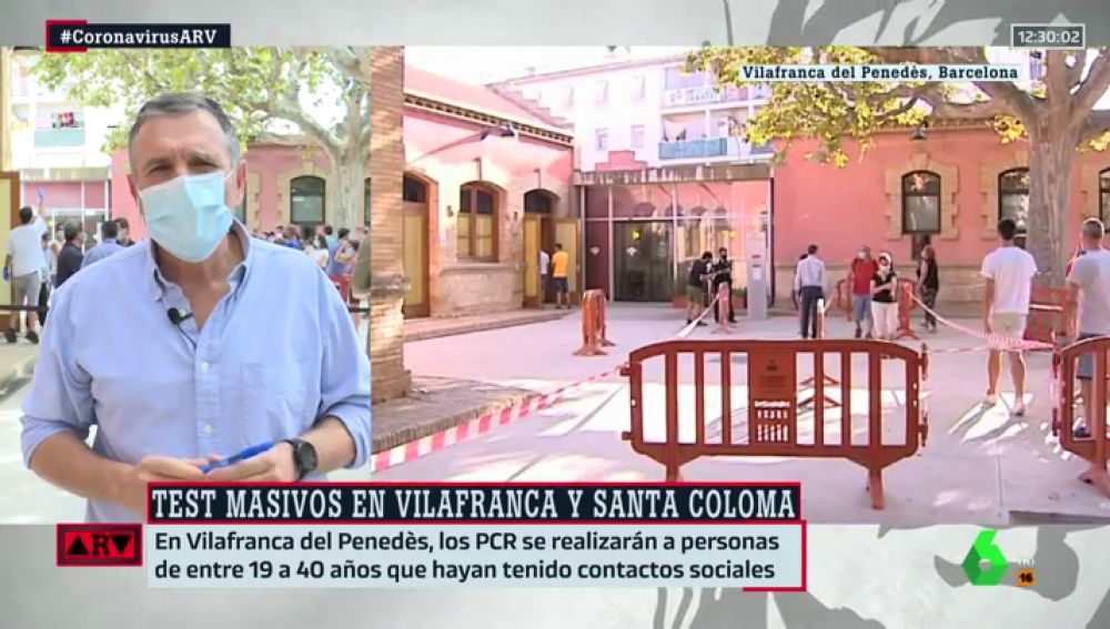 El alcalde Vilafranca del Penedès, Pere Regull.