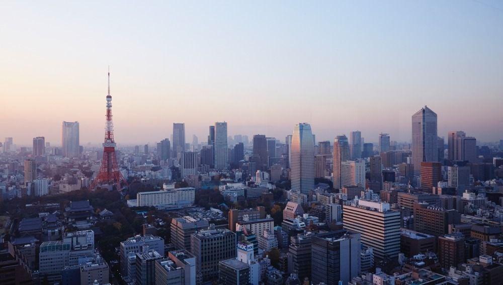 Vista panorámica de Tokio