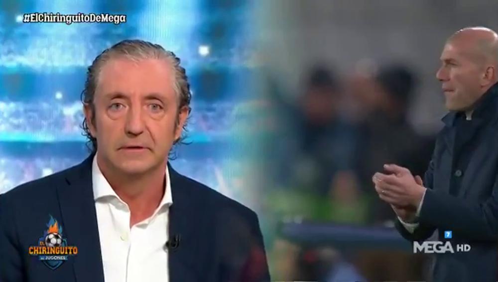 """Pedrerol: """"Si el Barça cae eliminado el viernes, Zidane habrá hecho una temporada escandalosamente buena"""""""