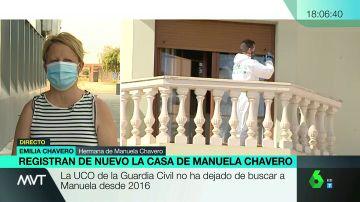 Emilia Chavero, hermana de Manuela, desaparecida en 2016