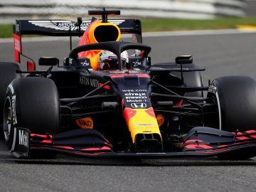 Max Verstappen lideró la segunda prueba de los entrenamientos libres del GP de Bélgica