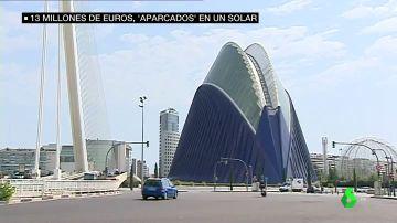 Así son las lamas de 13 millones de euros que diseñaron para la Ciudad de las Artes y las Ciencias y se aparcaron en un solar