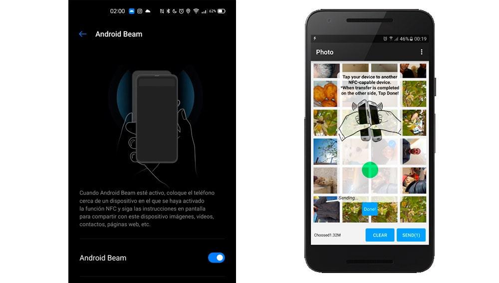Android Beam y la app de NFC