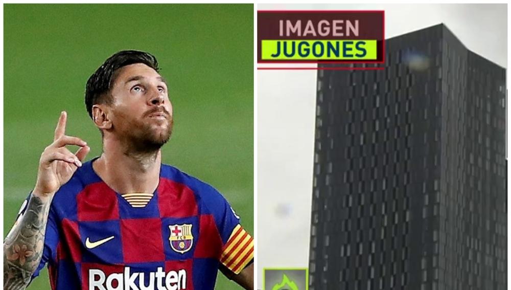 Messi y su posible hogar en Mánchester