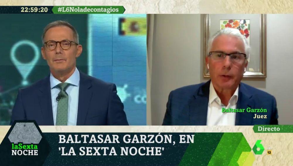 Baltasar Garzón, en laSexta Noche