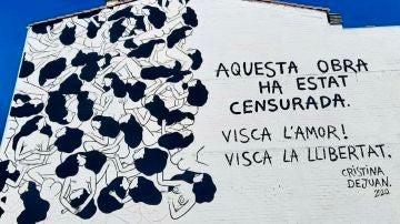 Mural de la artista Cristina Dejuan