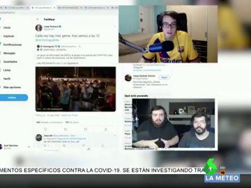 """El tremendo enfado de Ibai con los aficionados del Barça que protestaron por la posible marcha de Messi: """"Son todos tontos"""""""