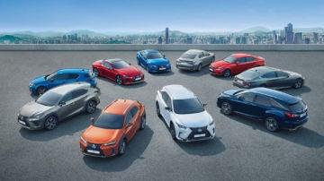 Lexus y Euro NCAP: Pleno histórico de cinco estrellas y tres 'Best in Class'