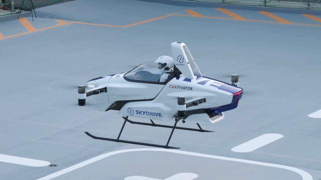 Coche volador SkyDrive