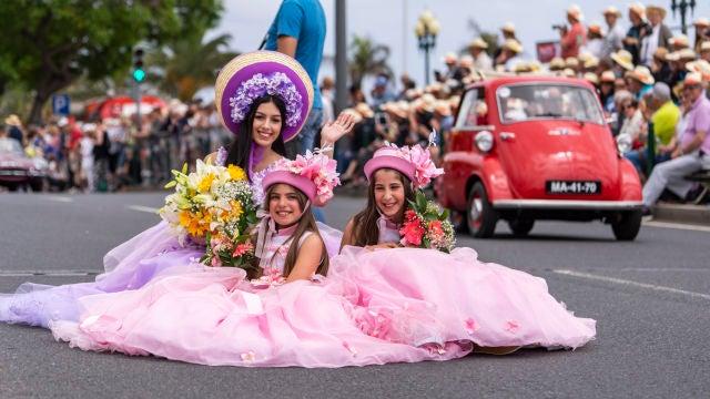 Fiestas de la Flor y el Vino en Madeira
