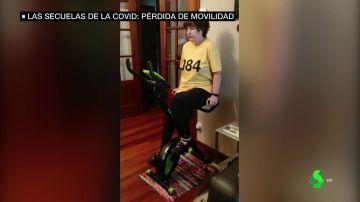 Pérdida de movilidad, una secuela del COVID-19