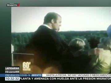 """La respuesta viral de los hijos del rey Juan Carlos cuando dice que se va """"a trabajar"""" en los años 70"""