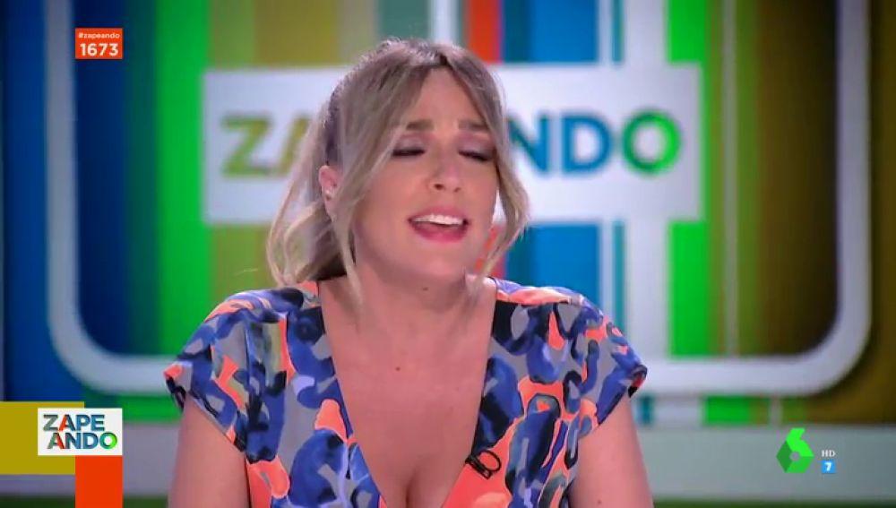 Anna Simon vuelve a sorprender con su brutal imitación a Amaia Montero